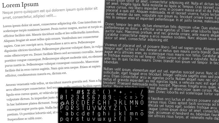 Lo que me ha enseñado la creación de una fuente simple sobre el diseño de fuentes |  Christian Behler |  Octubre de 2021