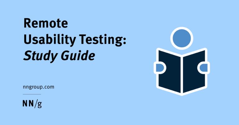 Prueba de usabilidad remota: un tutorial