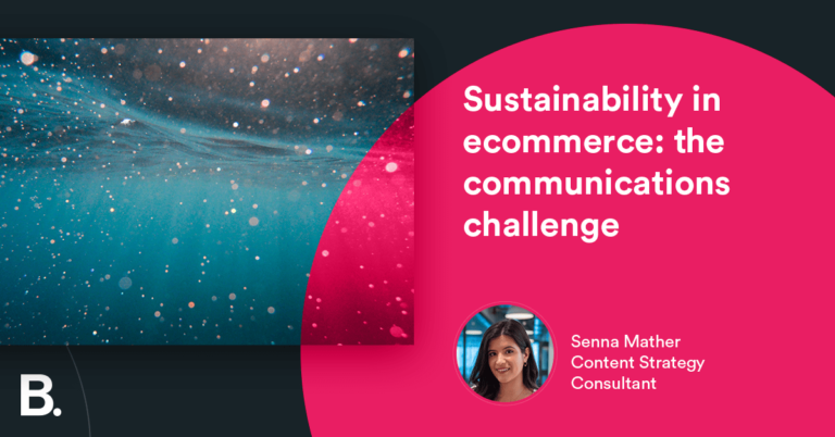 Desarrollo sostenible en el comercio electrónico: el desafío de la comunicación