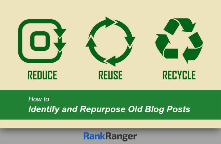 ¿Cómo reutilizar publicaciones de blogs antiguas?